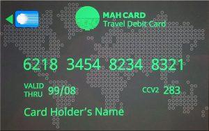 MahCard - Card Sample - Grey
