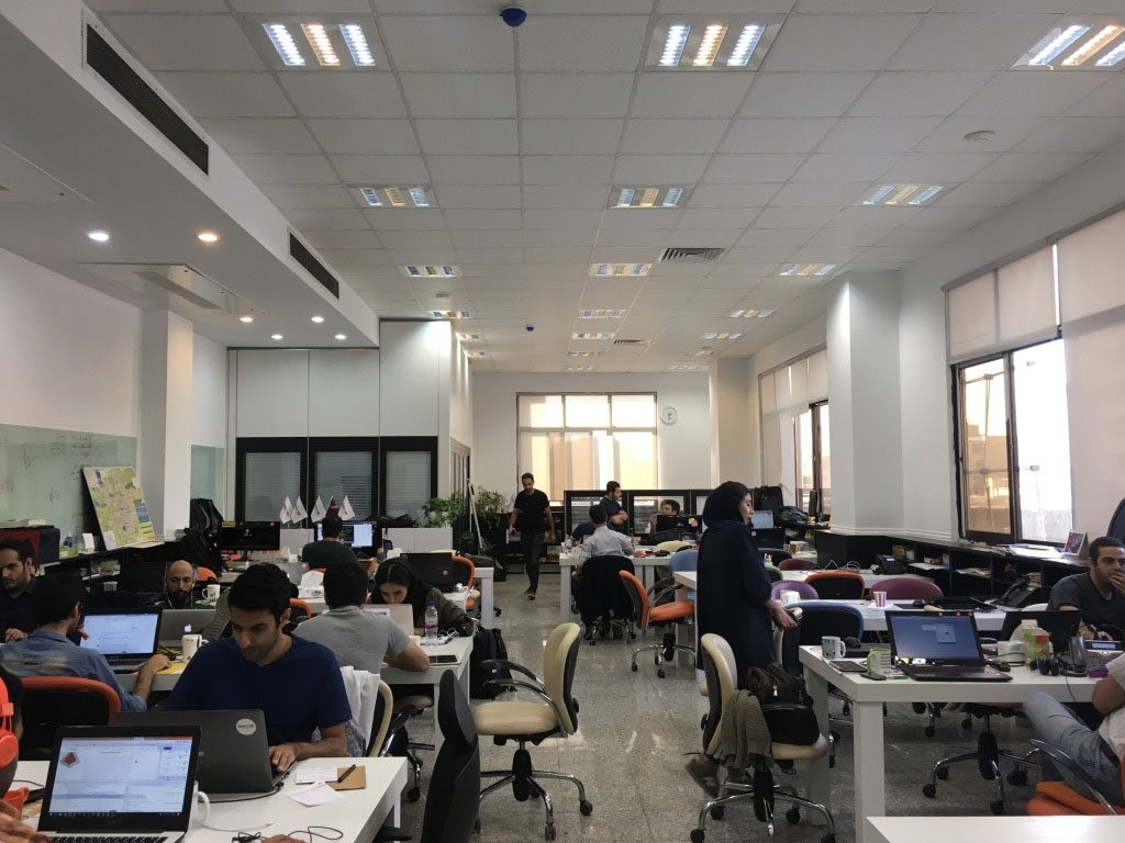 MahCard Office in Tehran
