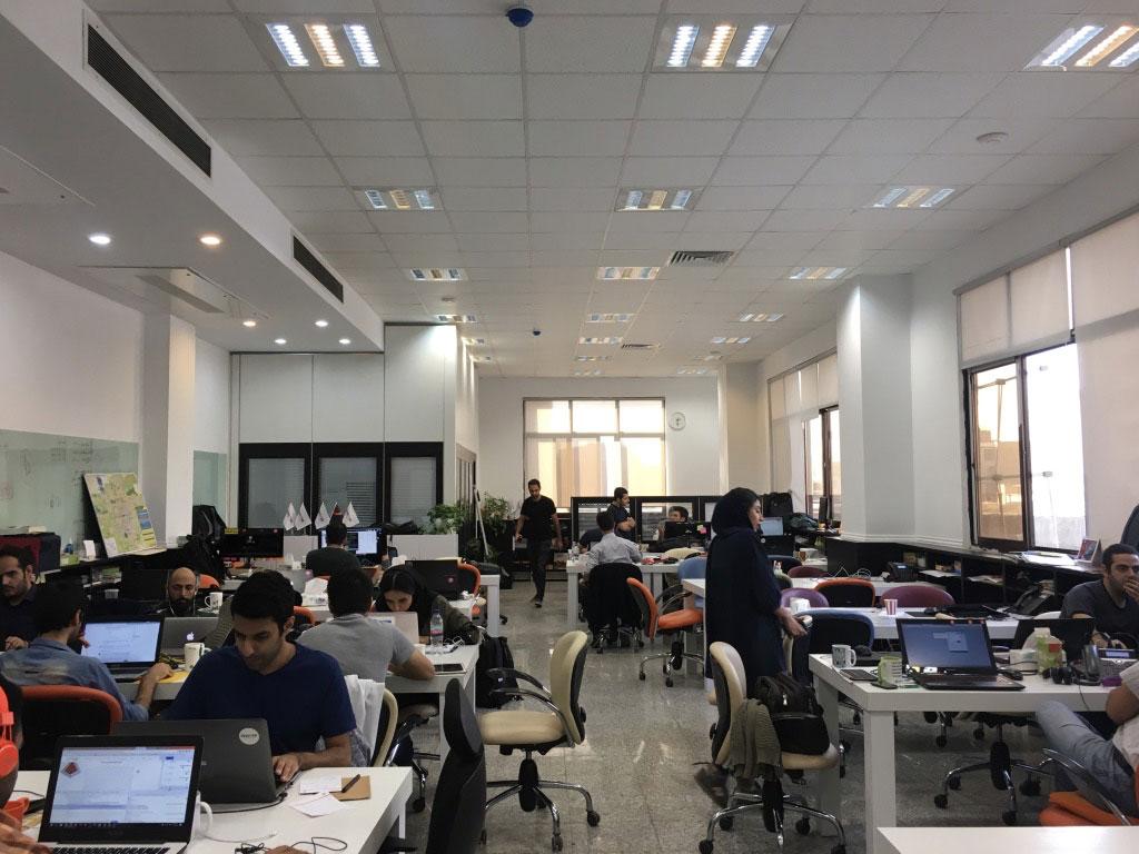Mah Card Office in Tehran
