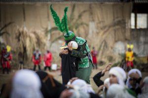Tazya, the theatrical re-enactment of Karbala battle