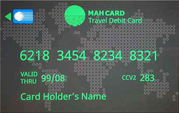 Mahcard is another way to exchange your money