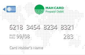 MahCard - Card Sample - White