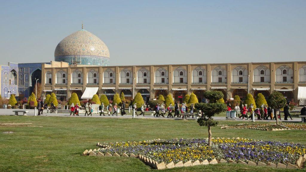 Naqsh-e Jahan Square in Isfahan,