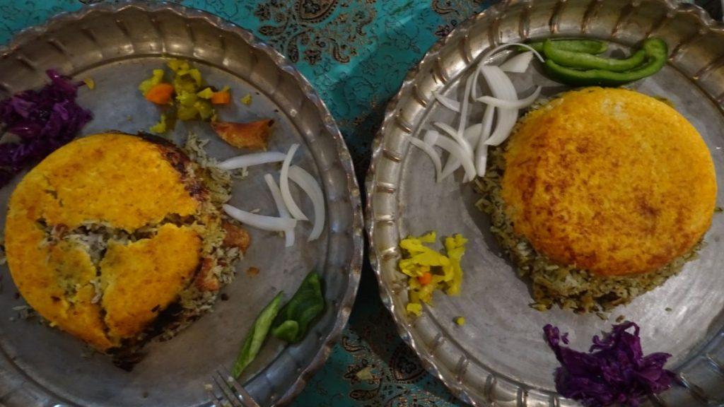 Shiraz; Delicious meal in restaurants