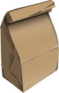 Money in Paper Bag