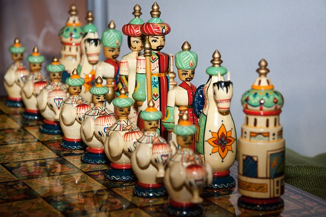 Handcarved chess-games Iran
