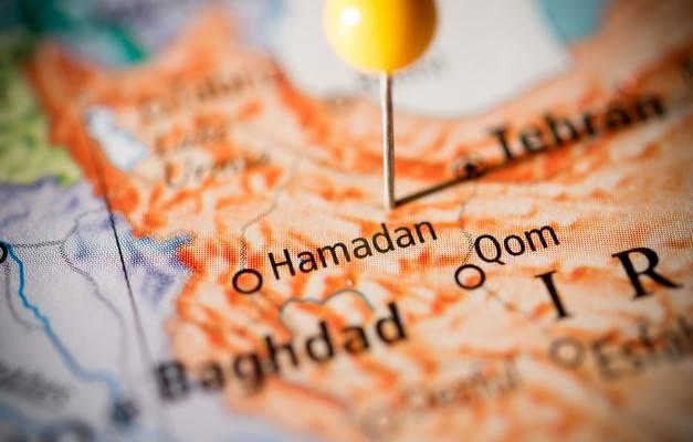 Hamadan Map