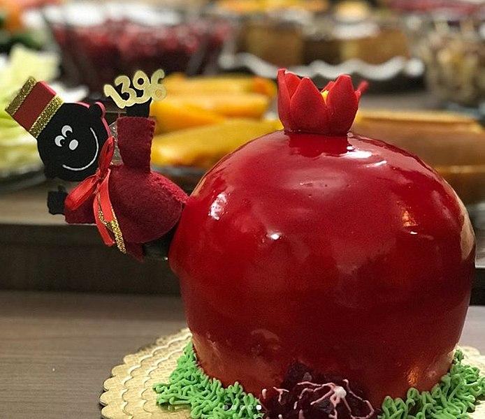 yalda pomegranates