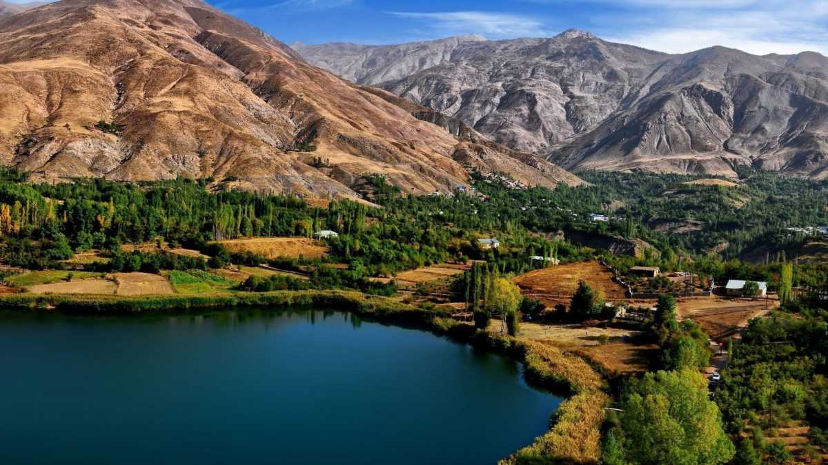 Ovan Lake Iran