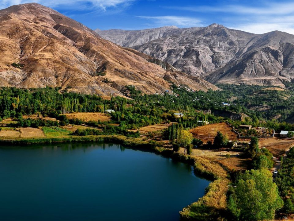 Ovan Lake Iran