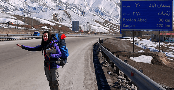 Solo female travel Iran