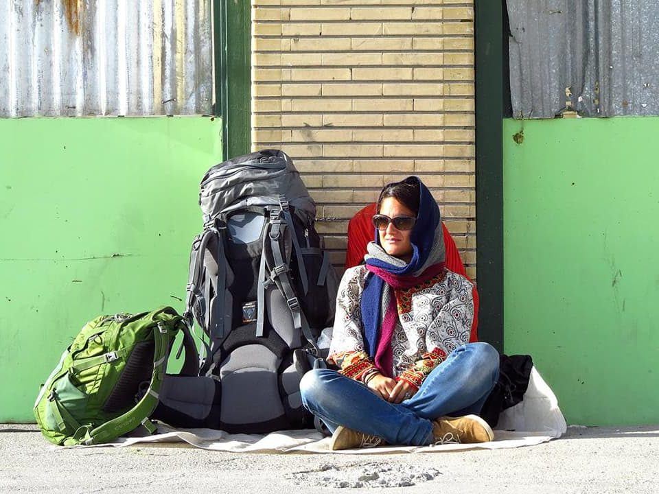 Solo female travel Iran